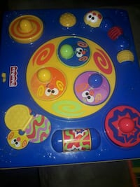 blue and yellow Fisher-Price learning table Alexandria, 22304
