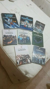 2 libros y 6 DVD del Real Madrid. Madrid, 28026