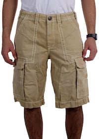 brown and white cargo shorts Falcon Heights, 55108