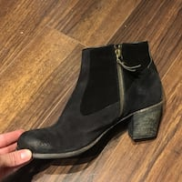 N.d.c suede ankle boots - 37/7-7.5 Vancouver, V5R 0B2