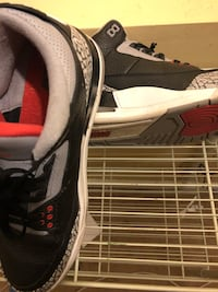 black and white Nike running shoe Germantown, 20874