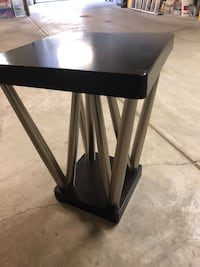Two contemporary style wooden tables. Can be used for bedside or living room. Very durable and stylish. Can be sold separately bust discounted for buying both.  San Francisco, 94117