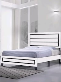 Brand New Queen Size Wood Platform Bed Frame ONLY  Silver Spring, 20910