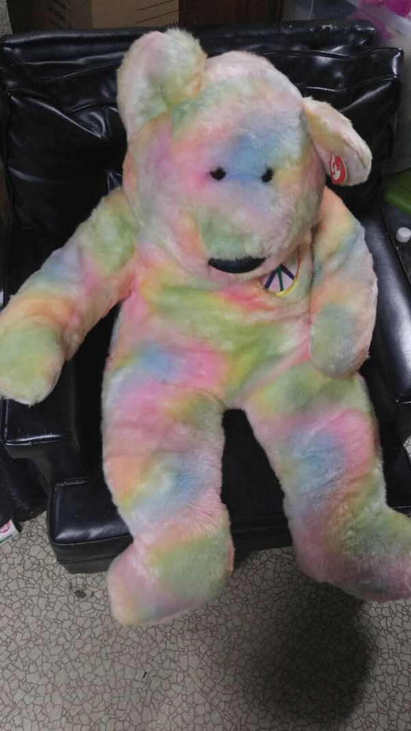 a8dfa1a667d Used TY beanie baby Giant Peace Bear for sale in Romulus - letgo