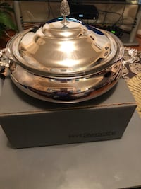 Silver plated serving dish- brand new Centreville, 20121