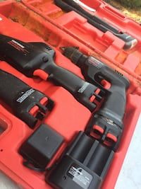 black and red cordless drill Barrie, L4N 7Z5
