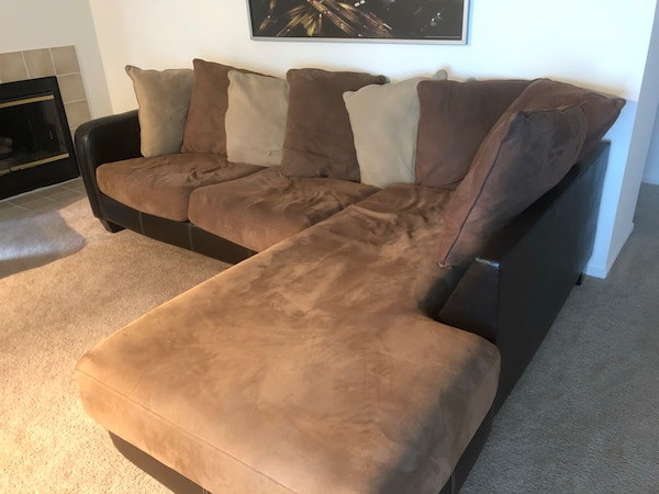 Outstanding Sofa With Chaise Lounge Bralicious Painted Fabric Chair Ideas Braliciousco