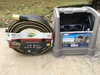 Brand New Element 100ft Commercial Grade 5/8 in Garden Hose and Suncast 100ft Hose Hideaway Springfield, 22151