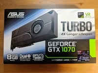 GeForce GTX 1070 -  ASUS Turbo Chestermere
