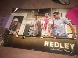 Hedley posters