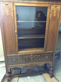 REDUCED - Antique China Cabinet.