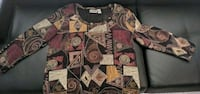 Chico Long Sleeve Shirt, Size 2 (Chico size), Size South Bend, 46614