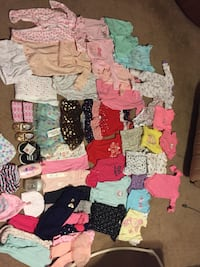 Babygirl clothes , shoes etc 3-6  Jacksonville, 72076