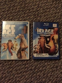 two Ice Age DVDs $10 for both  Greater Sudbury / Grand Sudbury, P3P 1G1
