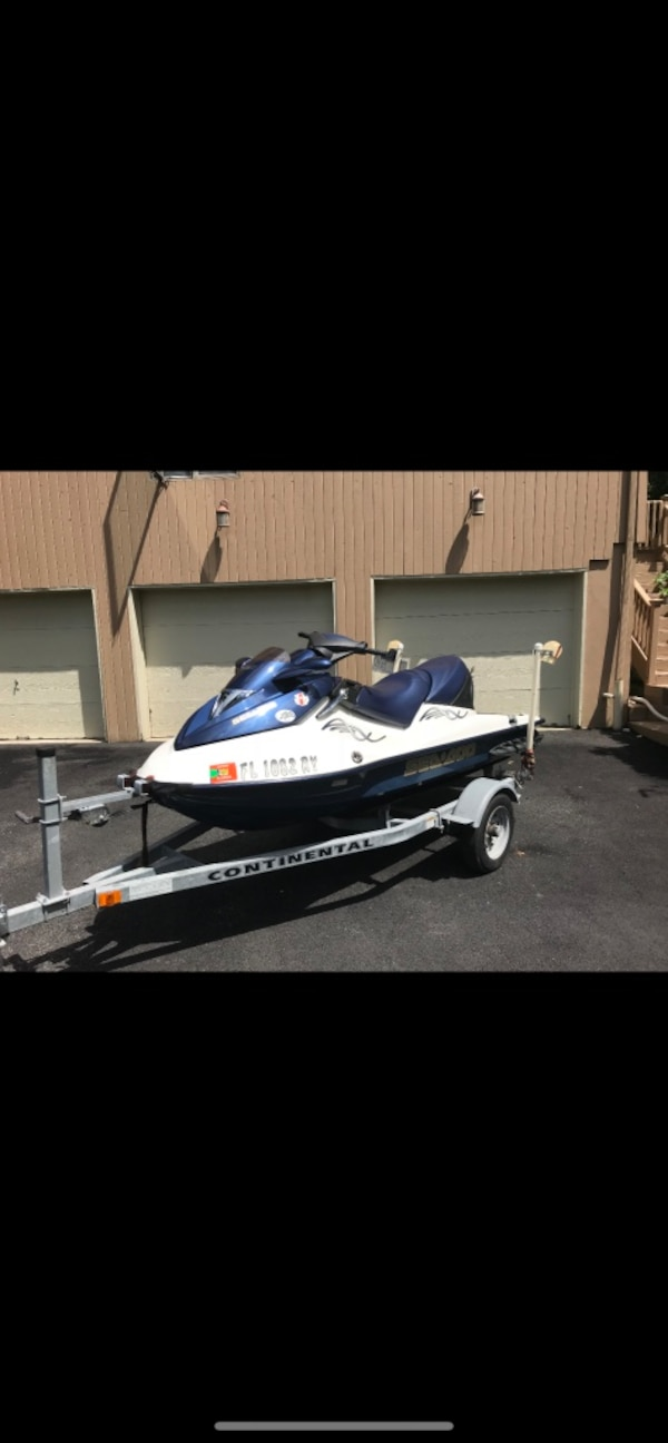 2005 SeaDoo GTX 4-Tec with Trailer