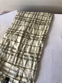 $5 only 100% silk designer brand long skinny scarf see pictures if posted it's available excellent condition  Burnaby, V5E 0A4