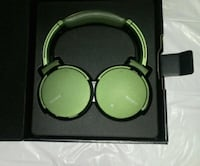 Army green SONY wireless headphones with box Montréal, H4B 1Y3