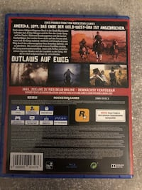 Red Dead Redemption II ps4 6837 km