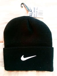 NIKE Black 100% Cotton Knit Beanie - New With Tags Silver Spring, 20906