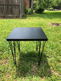 Hairpin Black Side Table Farmers Branch, 75234