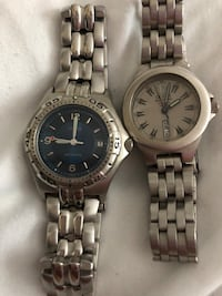 2 ladies guess watches great condition