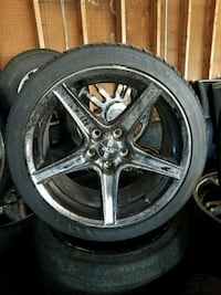 Ford mustang wheels Fort Lauderdale, 33312