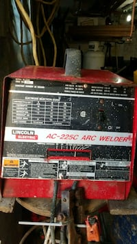 red and black Lincoln Electric welding machine Kitchener, N2M 5M8