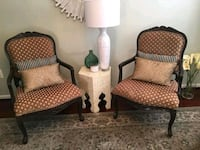 2x Woodframe Chairs Laurel, 20723