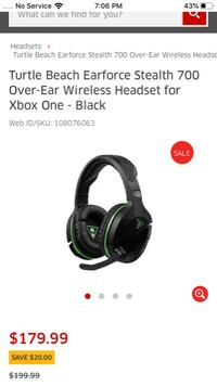 Xbox one headphones BNIB