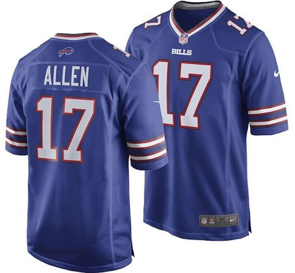 super popular 0bdb0 76535 Josh Allen bills Jerseys ALL SIZES