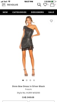 Sequin/lace Dress. Size small. Brand new! Vaughan