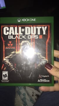Call of Duty Black Ops 3 Xbox One game case Great Falls, 59405