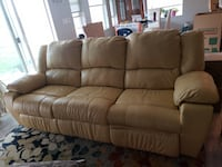 Leather Couch and Recliner  Colorado Springs, 80923