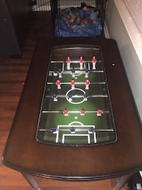 Black and green foosball table Toms River, 08753