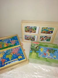 Wooden Puzzles $20 Blocks $15 London