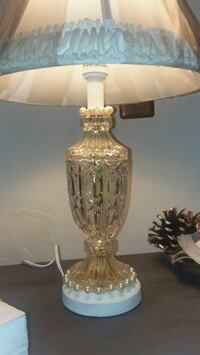 Real Cut Crystal glass lamp Cartwright