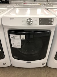TAKE HOME FOR $40 DOWN! Maytag Electric Dryer White Large Capacity #2711