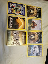 National geographic dvd lot educational
