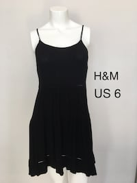 H&M Black scrappy Beach summer dress  Burnaby, V5C