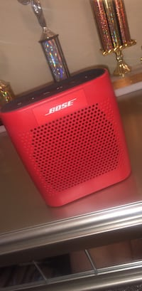red and black Bose portable speaker Belle Chasse, 70037