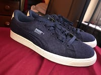 Navy Blue and Cream Puma Baskets Lusby, 20657