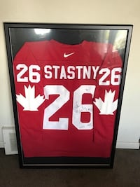 Peter stastny signed and framed team Canada jersey  Châteauguay, J6K
