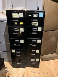 4-drawer Filing Cabinets (each)