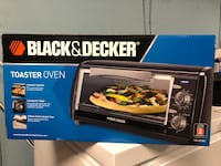 Black and Decker 4 slot toaster oven- brand new! Mississauga, L5L 1G1
