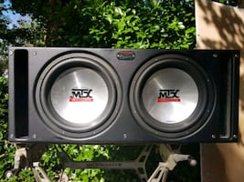 Car stereo system(subs and amps) for sale