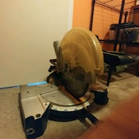 black and gray miter saw Surrey, V3T 1G4