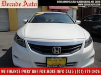 2012 Honda Accord Cpe WHITE bladensburg, 20710