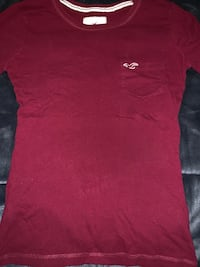 Red Hollister long sleeve shirt Alexandria, 22307