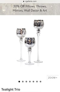 Zgallerie 10 Sets of 3 Goblets Phoenix, 85032
