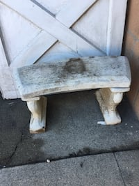 Cute Cement Garden Bench (Angels not included) Pomona, 91767